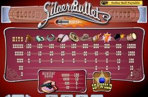 silver bullet spielen