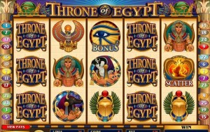 throne of egypt online slots