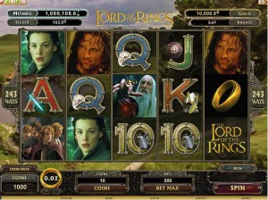 lord of the rings spiele